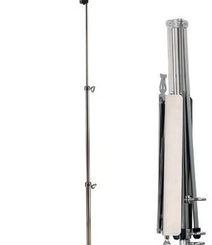 K&M Music Stand Nickel-kleur
