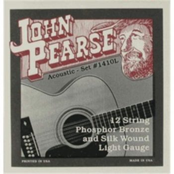 John Pearse Strings 1400L Phosphor Bronze & silk wound 12string