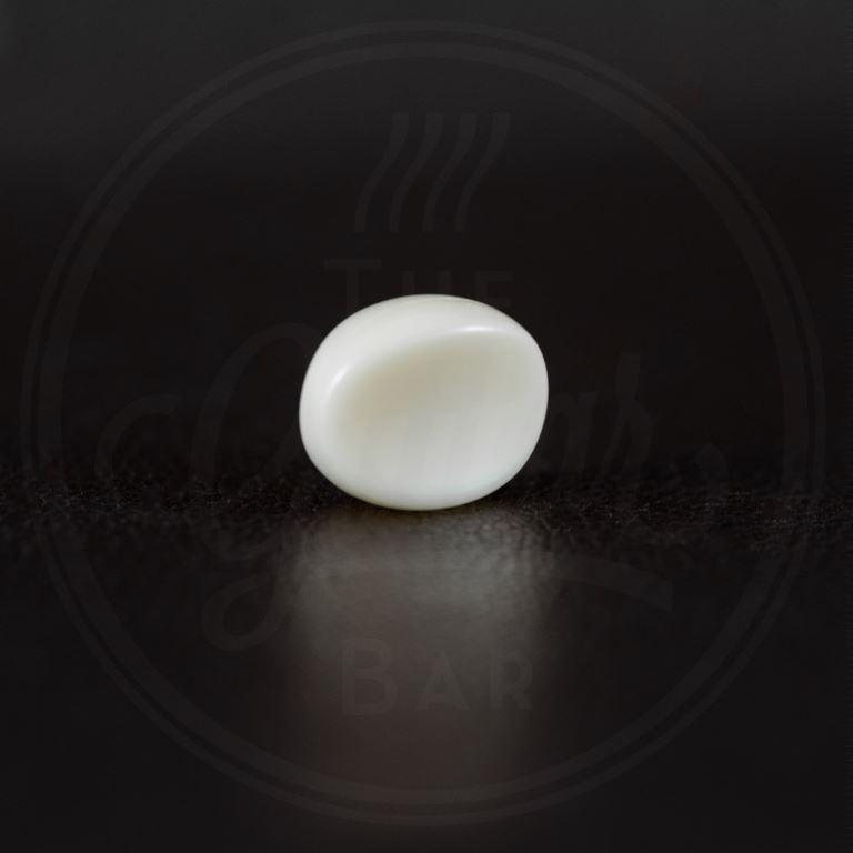 Kluson butterbean knob, white plastic