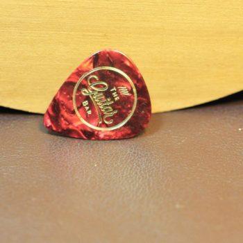 Guitar Bar picks medium - red