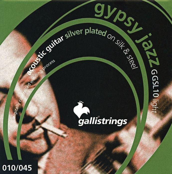 Galli gypsy jazz silk&steel 10-45
