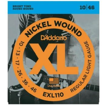 D'ADDARIO E-guit nickel wound 10-13-17-26-36-46