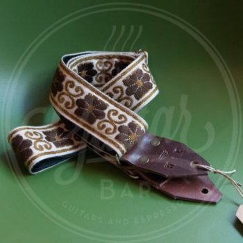 Holy Cow Real Vintage Brown Flower 60s strap