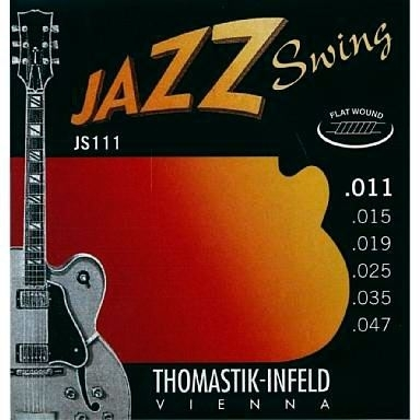 Thomastik Jazz Swing flatwound 11-47