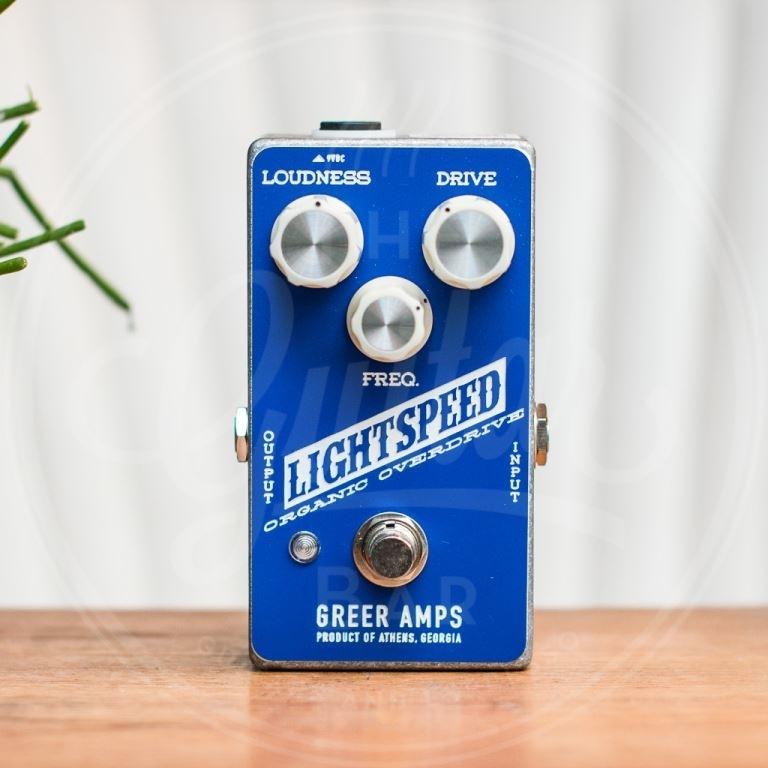 Greer lightspeed organic overdrive