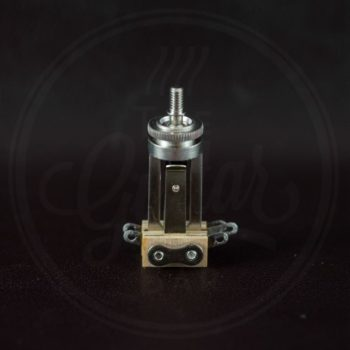 Switchcraft 3-way switch, long model, nickel, no cap