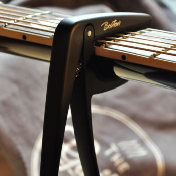 Boston capo for steelstring