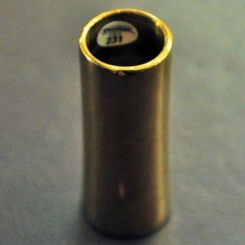 Dunlop Bottleneck Metaal geelkoper uncurved