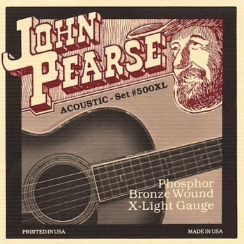 John Pearse Phosphor Bronze X-light 10-14-23w-30-39-47