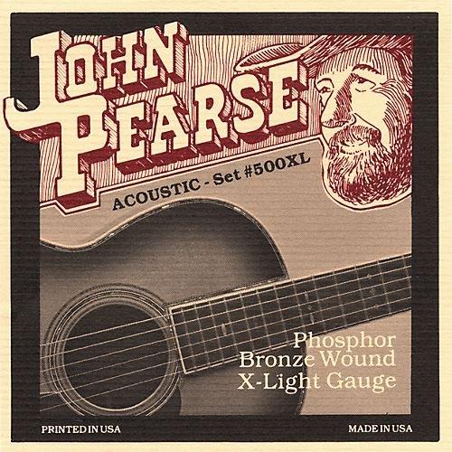 John Pearse Phosphor Bronze X-light 10-14-23w-30-39-47
