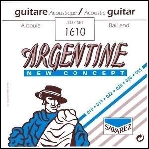 Argentine set snaren light tension 10-45