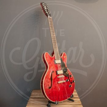 Guild Starfire IV st-12 Cherry Red incl case
