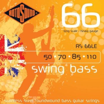 Rotosound swing bass stainless steel 50-110