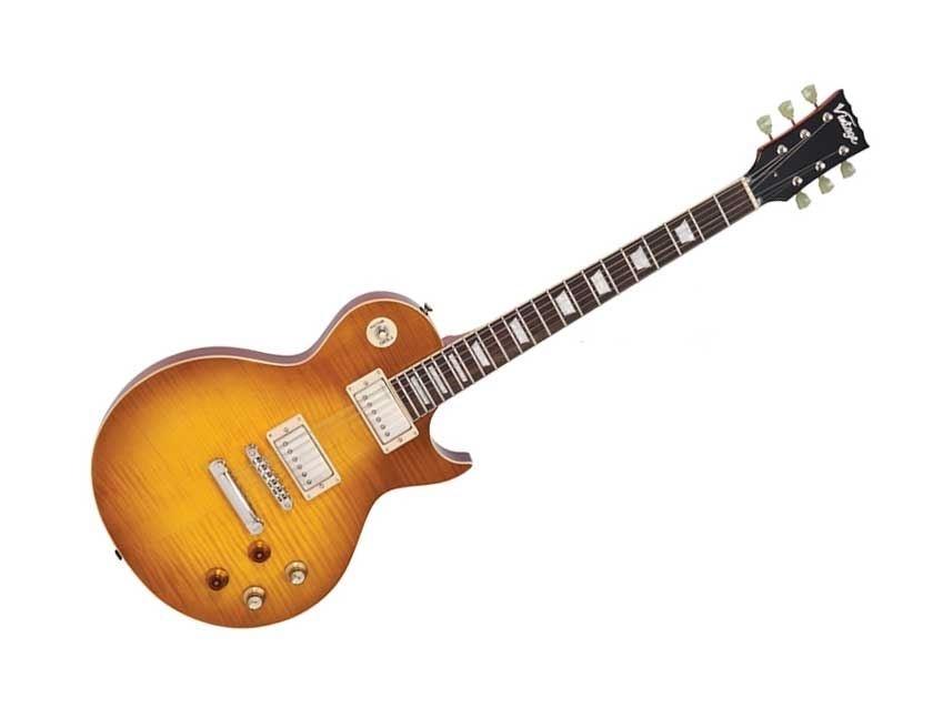 Vintage electrische gitaar LP-model Peter Green Lemon Drop