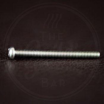 "StewMac humbucker height screw, 1-1/4"" (31,75mm), Philips roundhead, 3-48 thread, nickel"