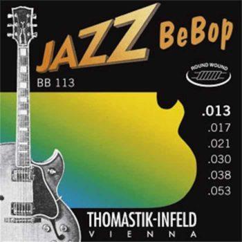 Thomastik Jazz Bebop nickel roundwound 13-53