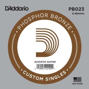 D'Addario Phosphor Bronze Acoustic 023
