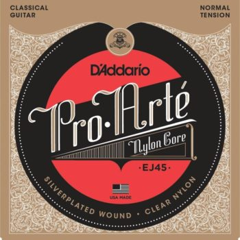 D'Addario snaren klassieke gitaar / Normal tension clear-silver plated
