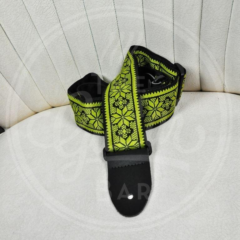 Dunlop guitar strap Fillmore Yellow