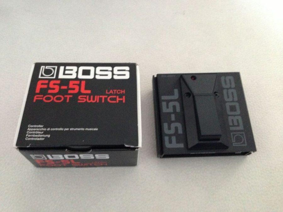Boss latch footswitch