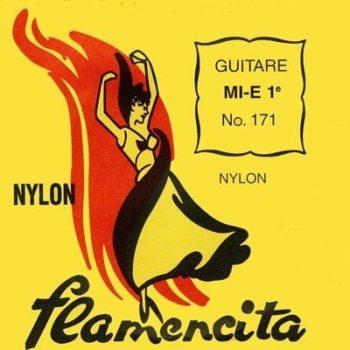 Savarez 170 Flamencita Flamenco Guitar Strings, Full Set
