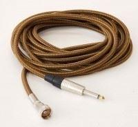 """TAD Harp-Mic cable, Amphenol / 1/4"""" plug 6 m, Vintage Tweed TAD Harp-Mic cable, Amphenol / 1/4"""" plug"""