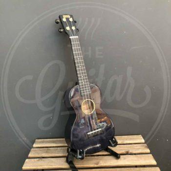 Mahalo concert ukulele transparant black
