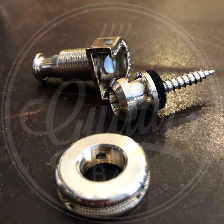 Schaller S-locks strap locks, set of 2, nickel