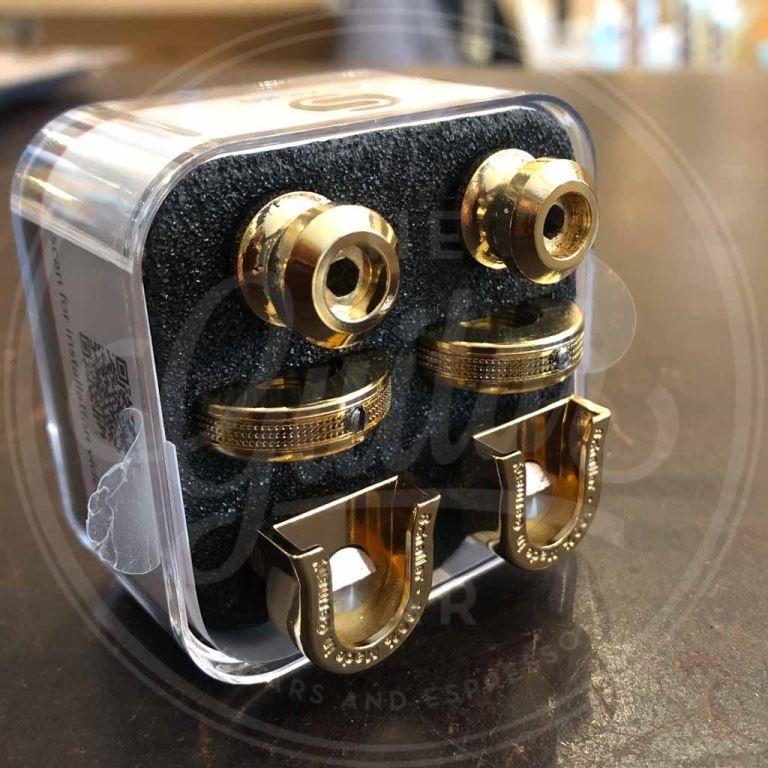 Schaller S-locks strap locks, set of 2, gold