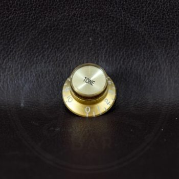 bell knob, SG model, gold with gold cap, tone, for inch type pot shaft