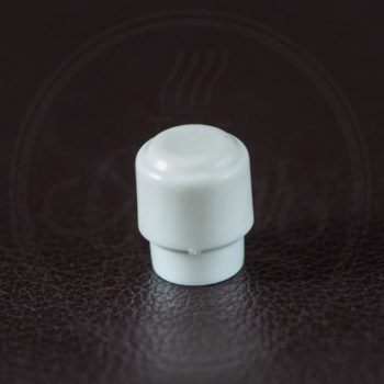switch cap Tele barrel model, white, fits 3,5mm blade