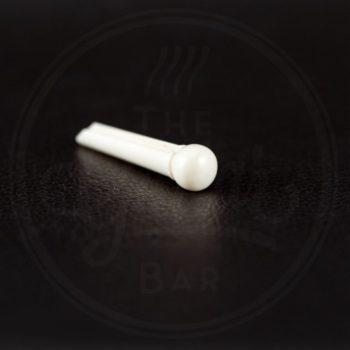 bridge pin, plastic, ivory / prijs per stuk