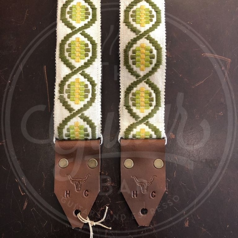 Holy Cow real vintage Green Swirl 60's strap