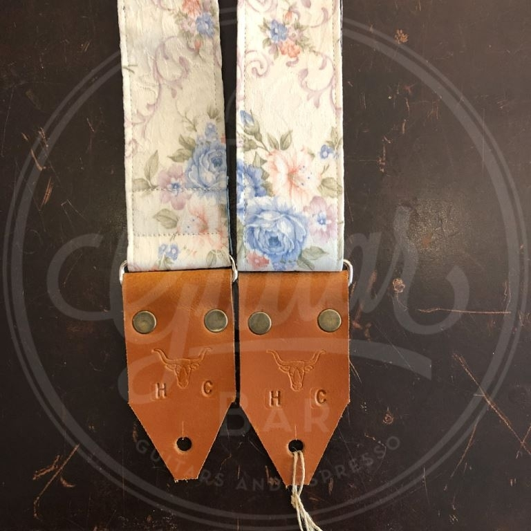 Holy Cow Special Blue Flower art strap