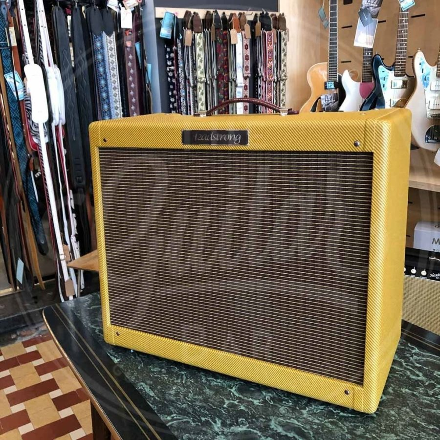 Headstrong Blue Lamp 210 Tweed Amplifier w/1058 Speakers