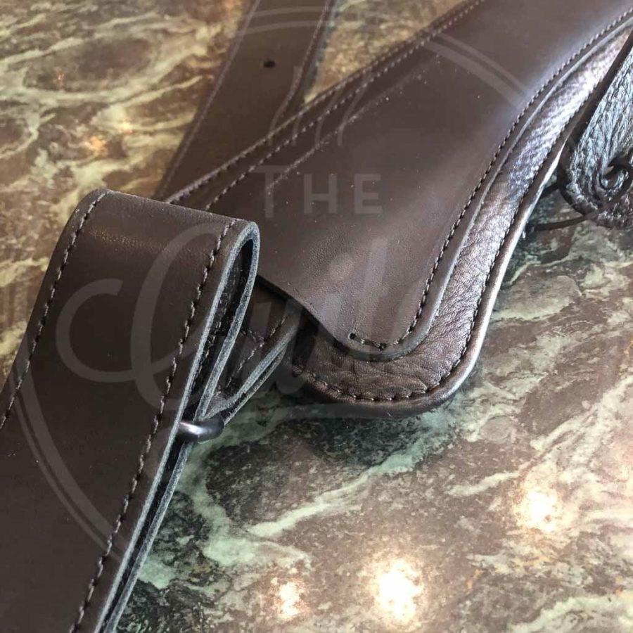 "LM black & brown 3"" shaped pad"
