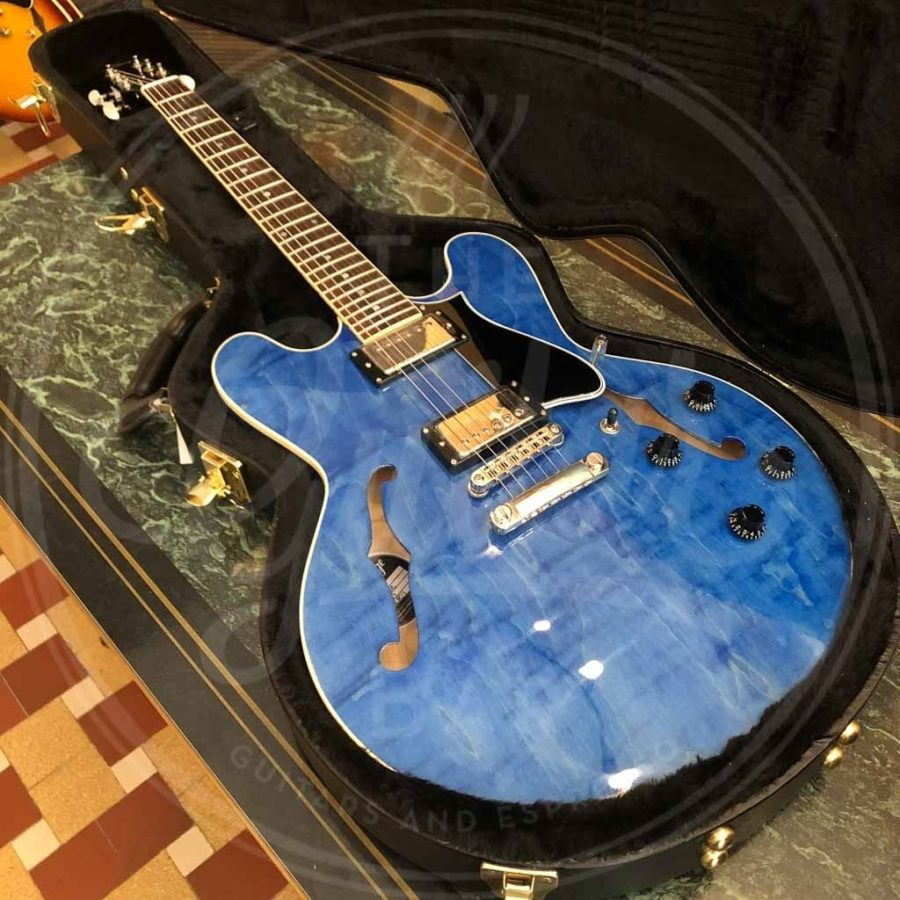 Heritage H535 in washed blue incl case