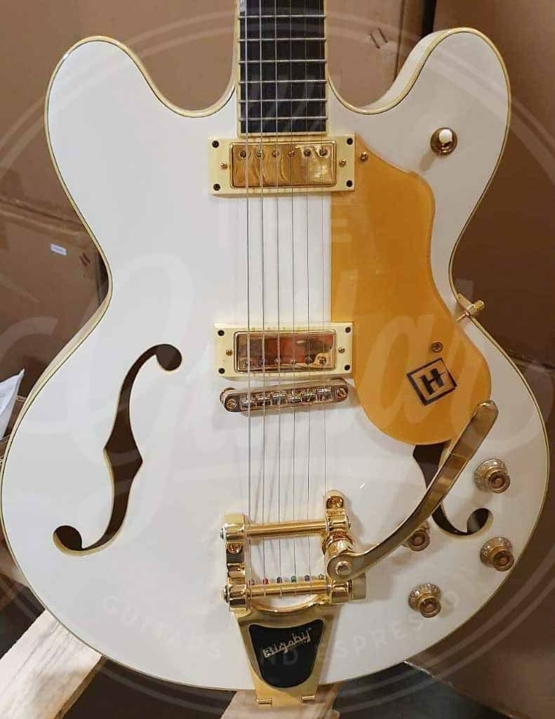 Hanson Chicagoan White Pearl with Bigsby