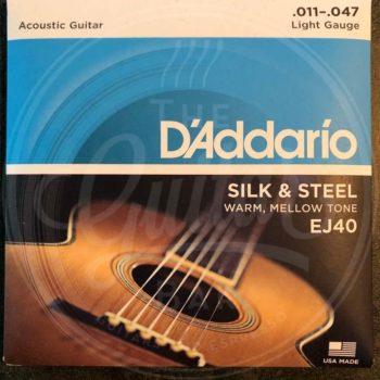 D'Addario 11-47 silk & steel