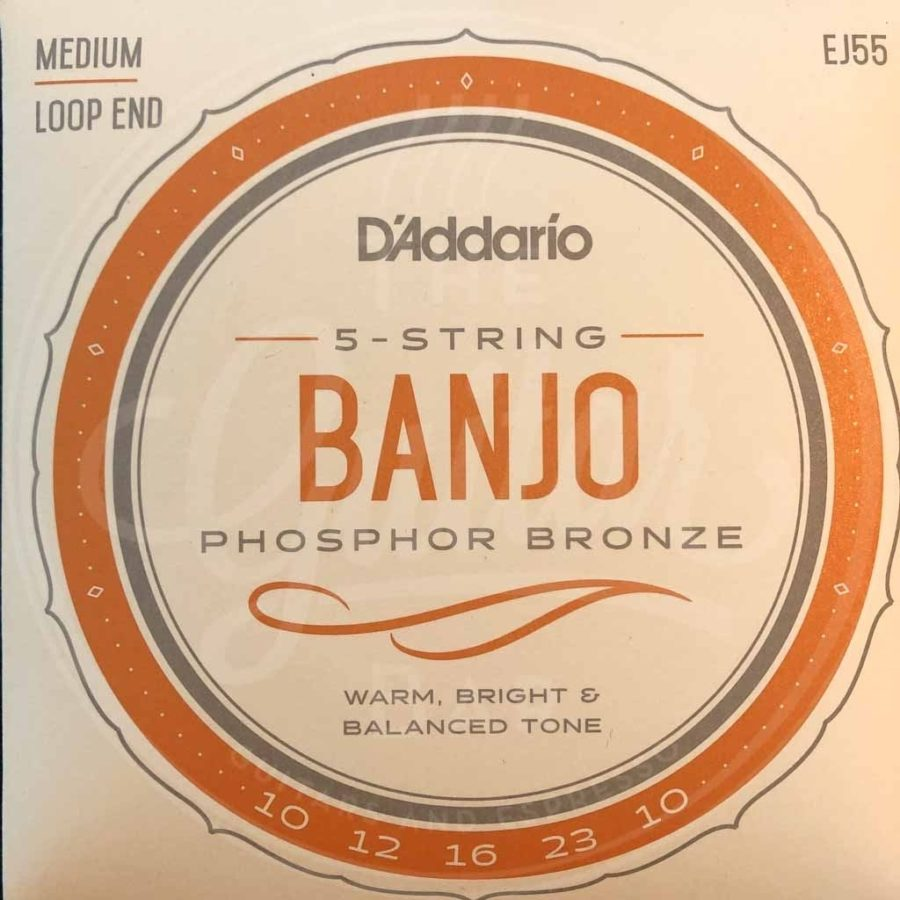 D'Addario 5-string banjo snaren fosfor brons !9-11-13-20-9