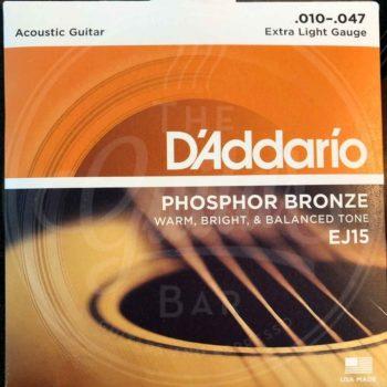 D'ADDARIO A-guitar Phosphor bronze - various sets