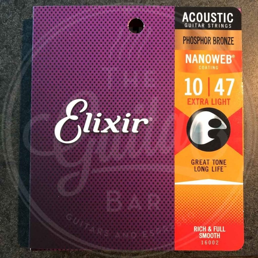 Elixir acoustic nanoweb - various sets