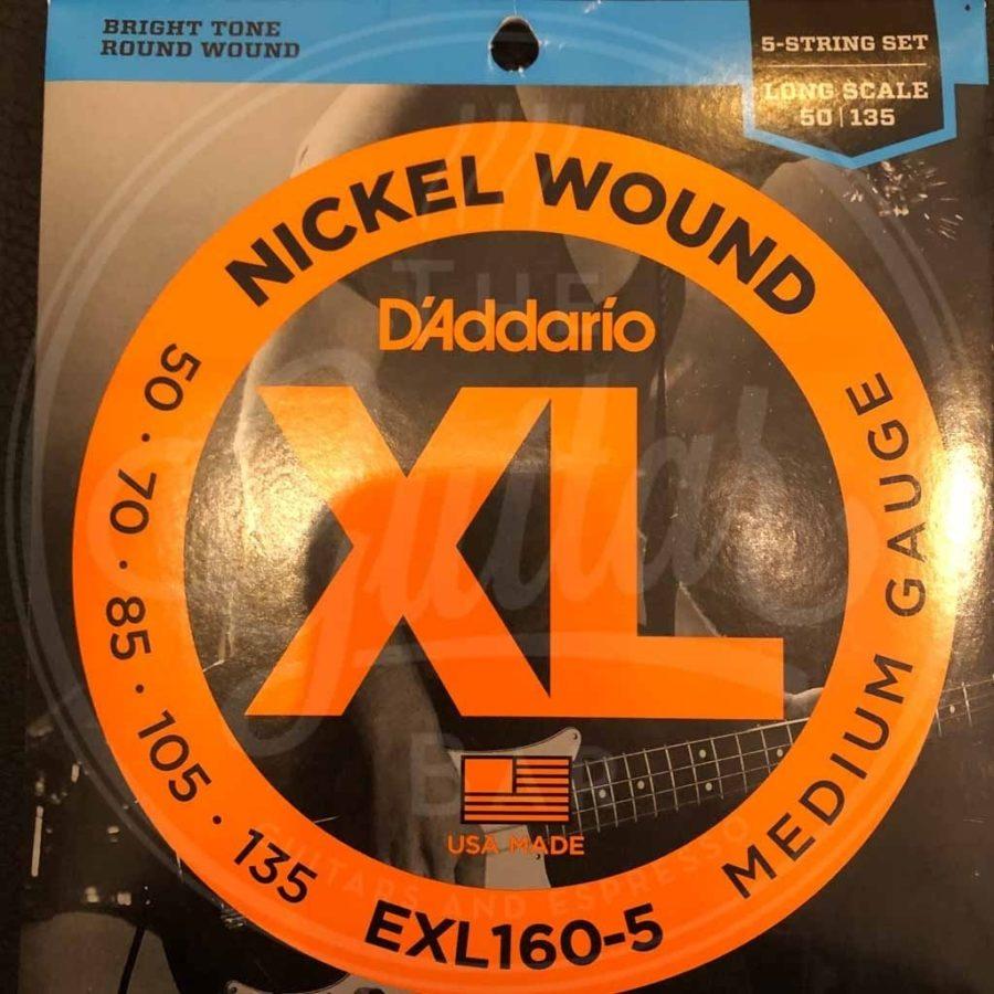 D'Addario round wound nickel - various sets