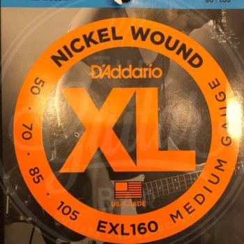 D'Addario round wound nickel - various sets