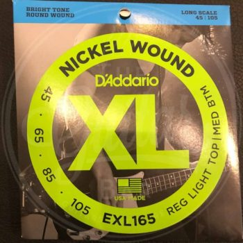 EXL165 bass-strings - various sets