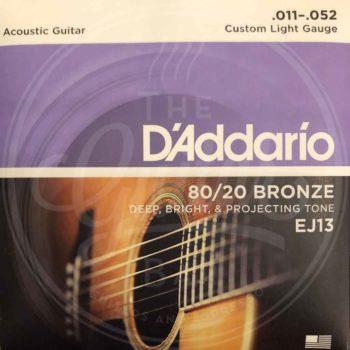 D'ADDARIO A-guitar 80/20 bronze 11-52
