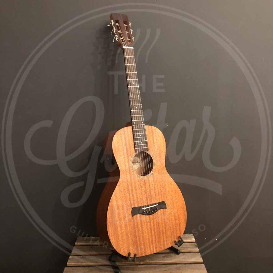 Richwood Master Series handmade parlor guitar, solid mahogany