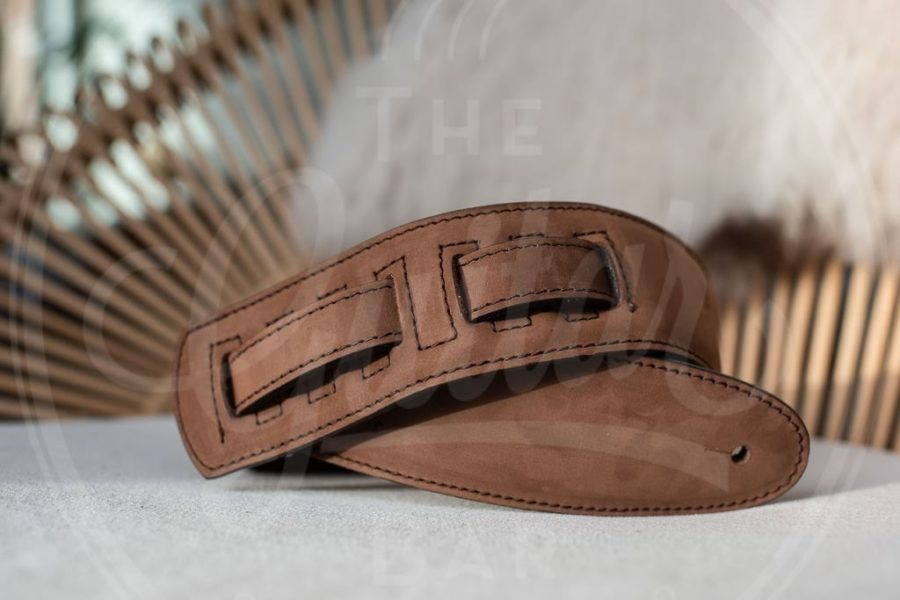 Kaffa guitarstrap suede - leather / various colours