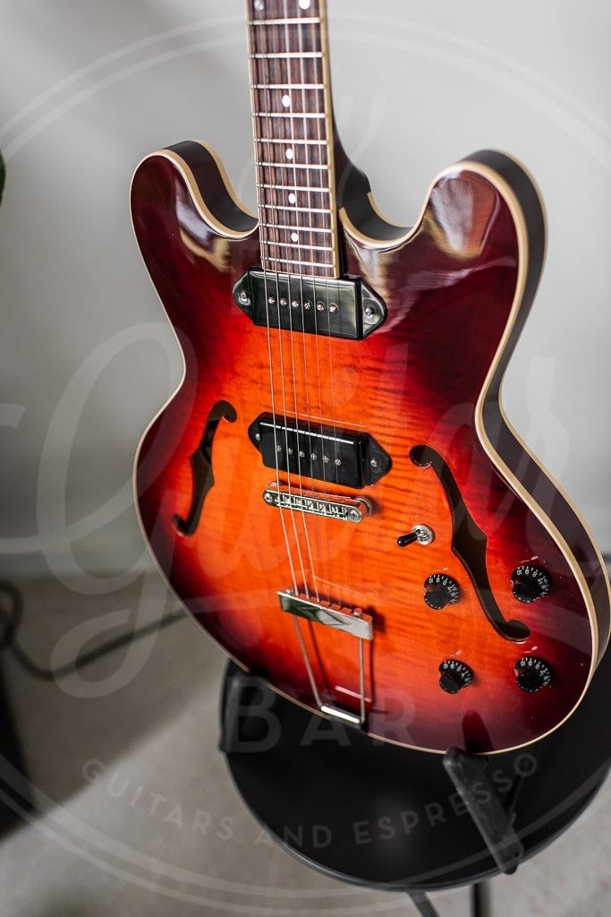Heritage H-530 in Chesnut Sunburst Custom