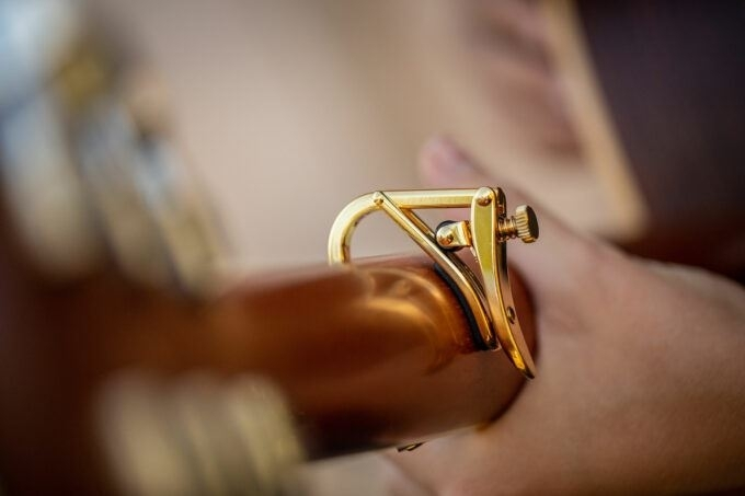 Shubb C1g capo steelstring Rosé Gold